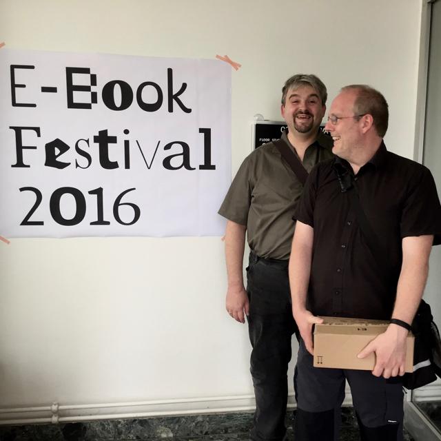 Meine gemeinsame Lesung mit Axel Hollmann auf der E-Book-Fair 2016