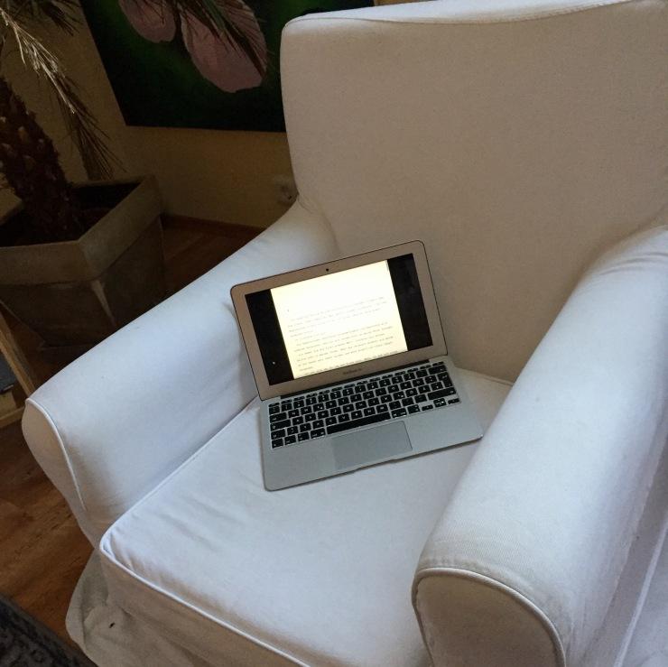 Challenge: 31 Tage Autorenwahnsinn, Tag 10 – Wo ich am liebsten schreibe