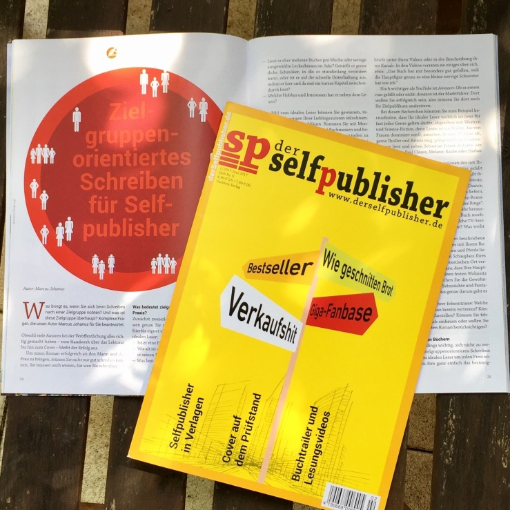 Coverdesign, YouTube und Bloggen: der selfpublisher Nr. 6 ist da!