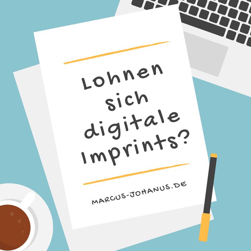 Lohnen sich digitale Imprints