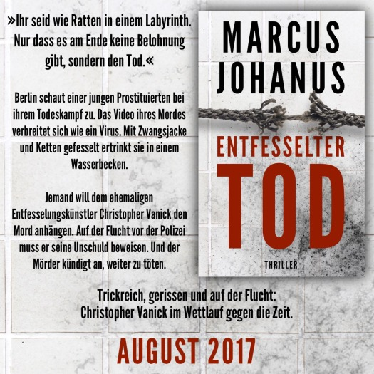 Entfesselter Tod Preview Klappentext