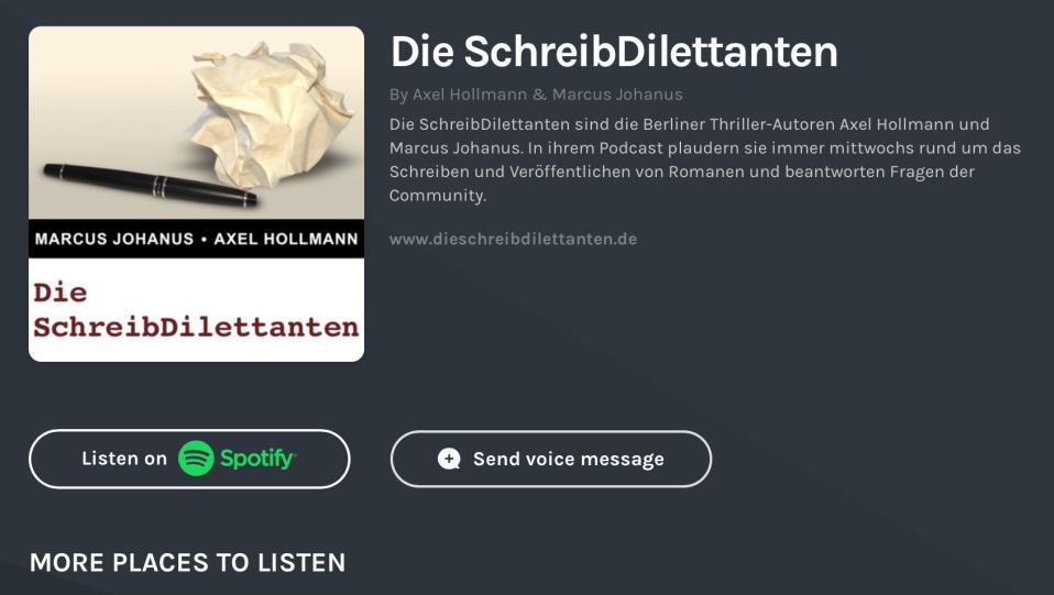 Die ScheibDilettanten als Podcast