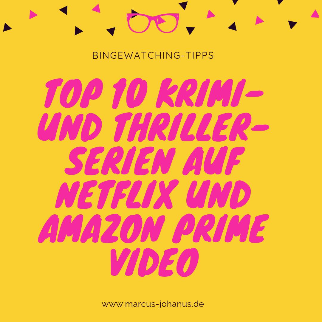 Thriller Serien Netflix