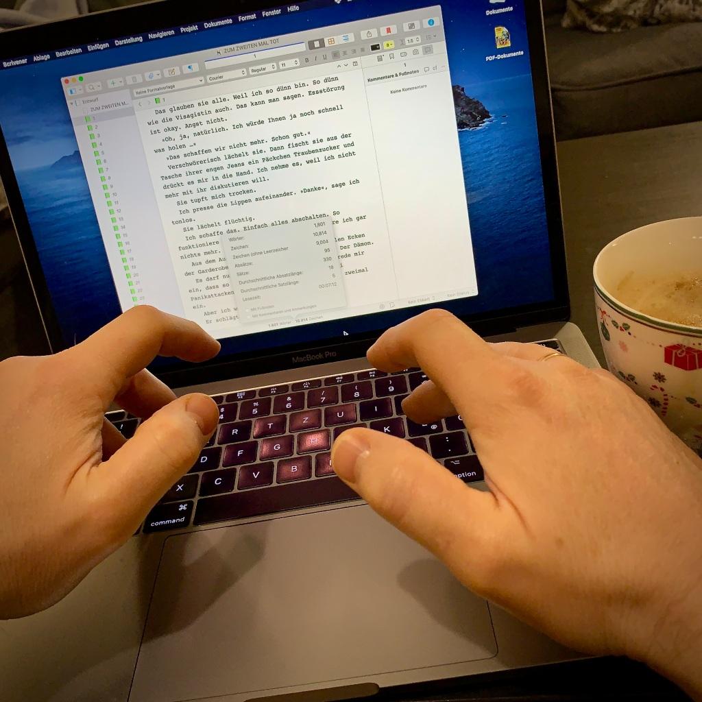 Entspannen beim Schreiben